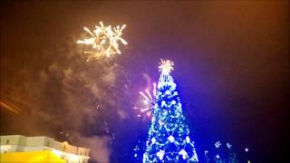 Вечер 31 декабря 2013 года в Саранске