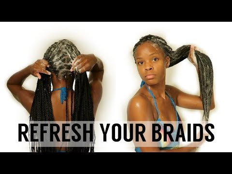Box Braid Wash Day Routine | How To Keep Your Braids CLEAN And NEAT