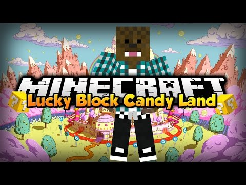Minecraft: Lucky Block Candy Land w/ xSlayder