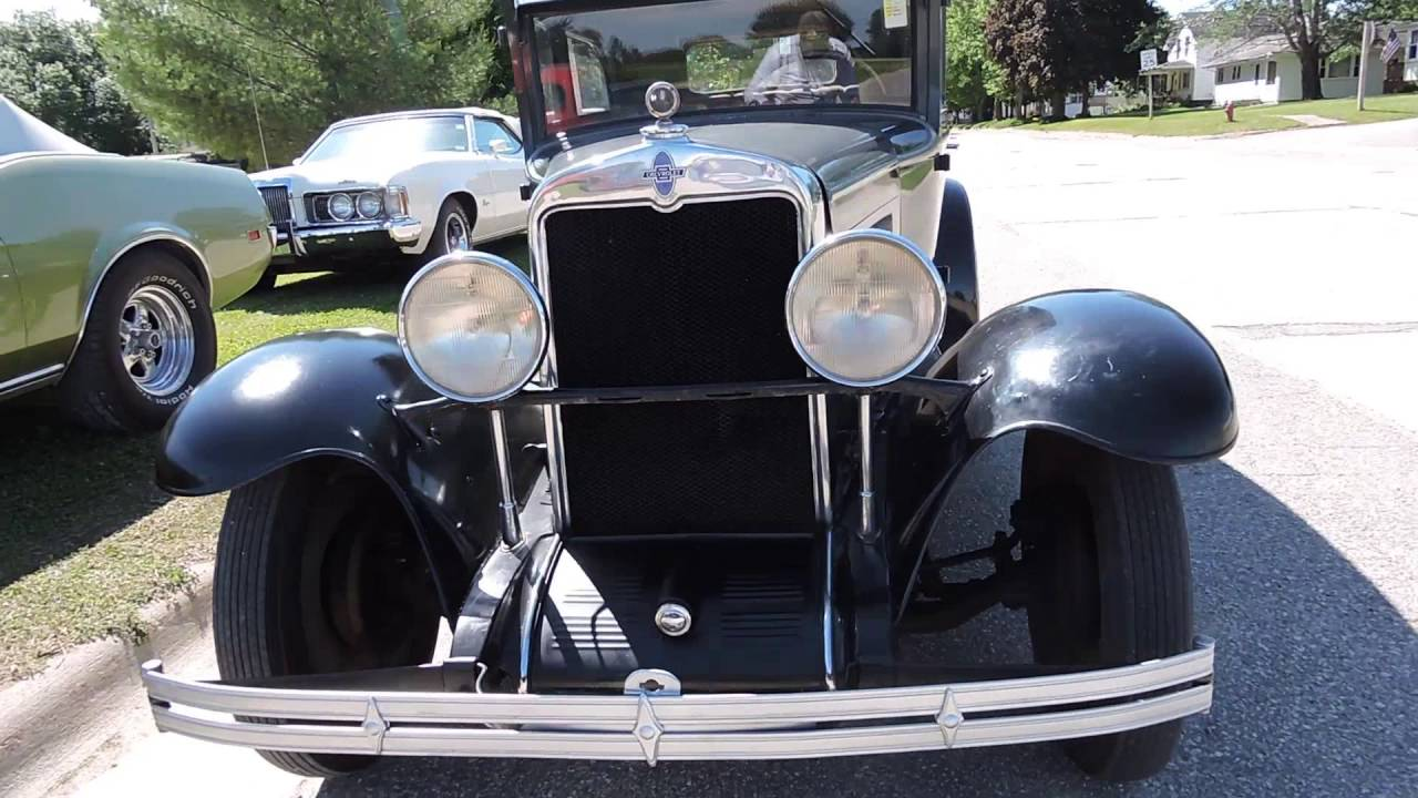 1929 chevy for sale at www coyoteclassics com - YouTube