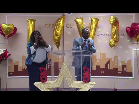 City of Faith Maryland - The Word with Pst. Sola Fabunmi - The Creating Power of the Tongue