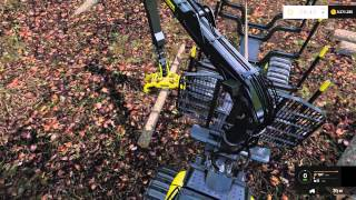 FS 15 Hardcore Forestry #4  Chainsaw - Harvester - Forwarder