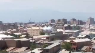 ՊՊԾ գնդի տարածքում հնչում են կրակոցներ և պայթյուններ,, մաս 2 (31 07 2016)