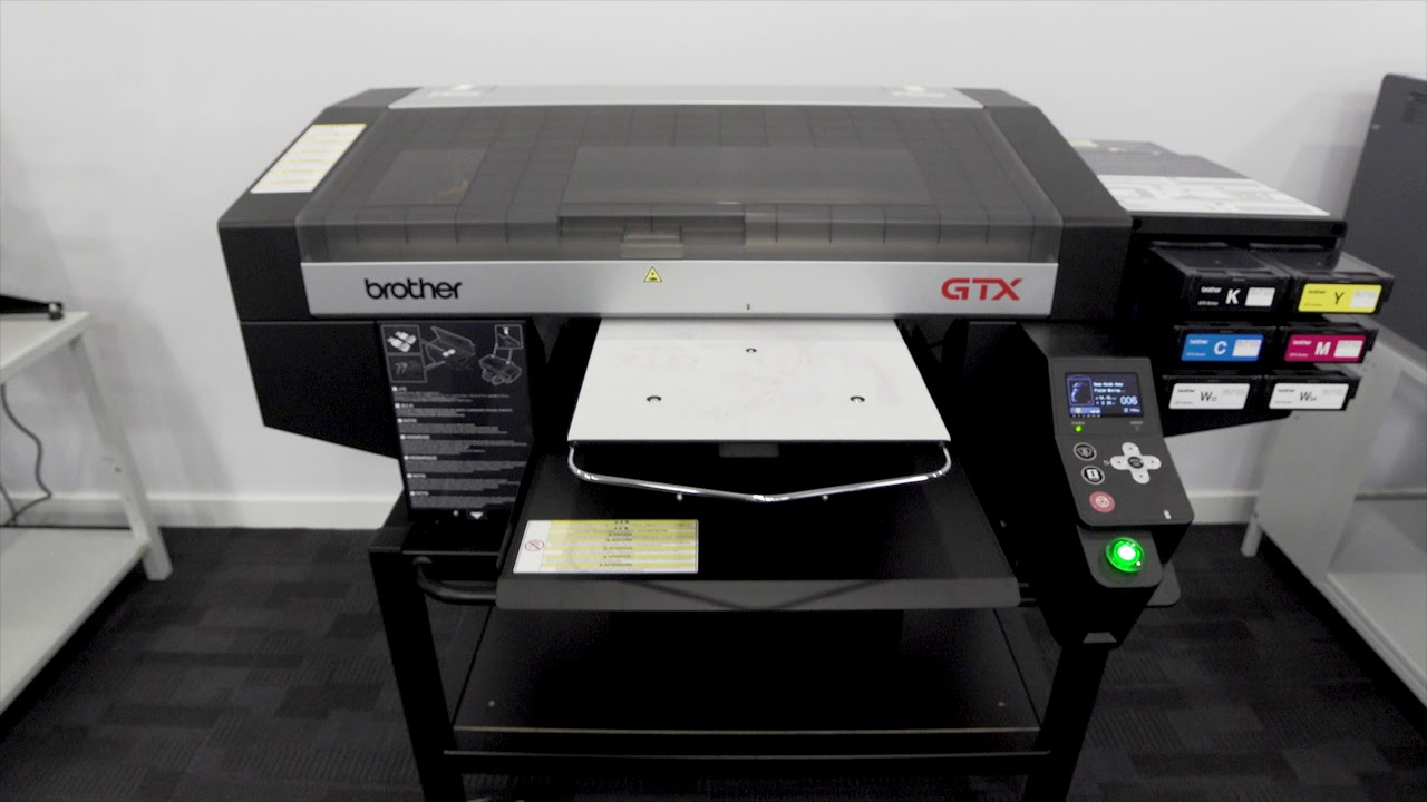 9c690fea2 Introducing The Brother GTX Direct to Garment Printer - YouTube