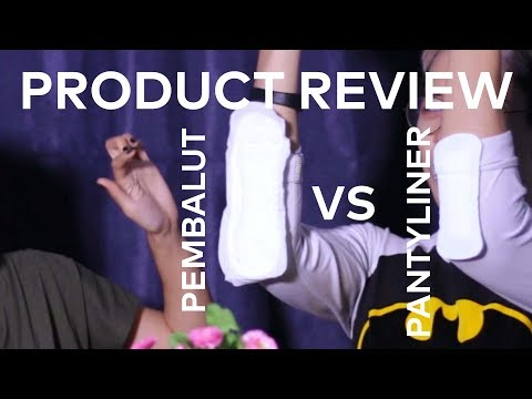 Product Review   Pembalut vs Pantyliner by AsmaraKu.com