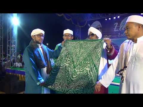KISWAH KAIN PENUTUP MAKAM NABI MUHAMMAD SAW.. MONAS 09 JUNI 2018