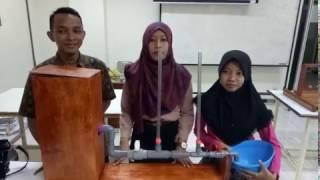 Praktikum Pipa Venturi Mahasiswa Pendidikan Fisika 5B UPGRIS