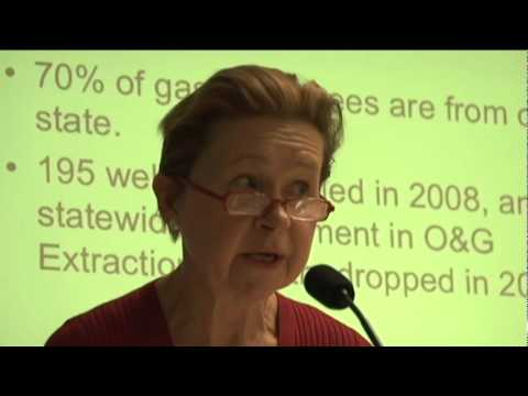Dr. Jannette Barth - the Economic Impact of Gas Drilling in