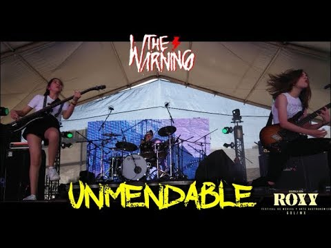 The Warning - We Will Rock You (Queen cover) & Unmendable (Roxy Fest)