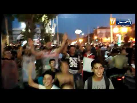 فرحة عارمة للجزائريين بعد تأهل الخضر إلى المربع الذهبي في كل من سطيف وجيجل