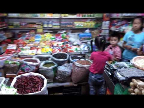 Wuhan China, Street Market