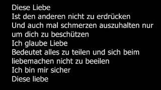 sido-liebe lyrics
