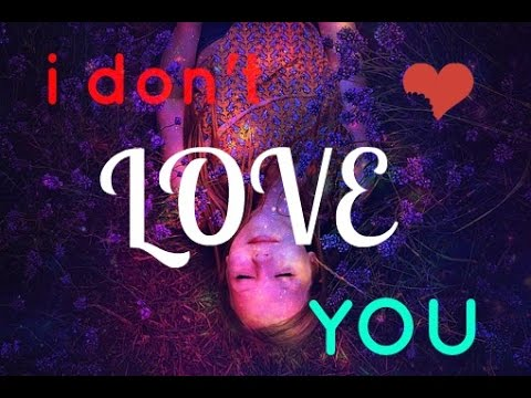 CRUEL YOUTH- i don't love you (lyrics)