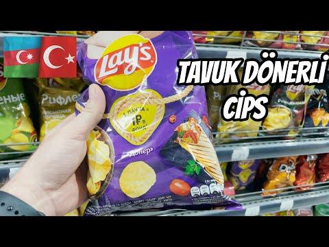 AZERBAYCAN'da MARKET fiyatları - 1 Manat: 5 TL