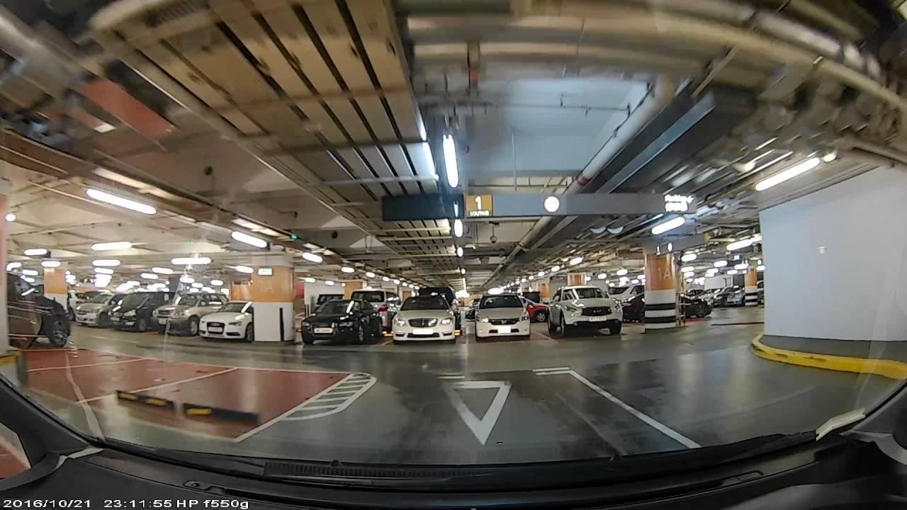 香港泊車好去處 - Elements 圓方南停車場 (入) - YouTube