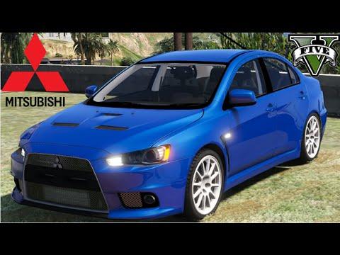 GTA V Mods - Mitsubishi Lancer Evo X