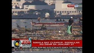 SONA: Mga negosyong nakadudumi umano sa Manila Bay, iinspeksyonin ng DENR sa Biyernes
