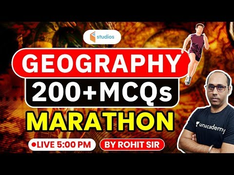 Geography Marathon | 200+ Geography MCQ's | Geography By Rohit Kumar