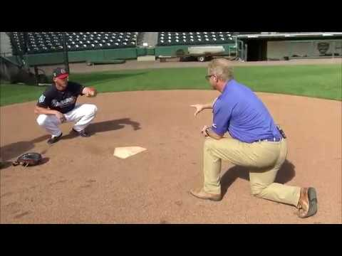 Practice Like The Pros: Braves catcher Tyler Flowers teaches how to ...