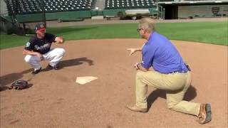Practice Like The Pros: Braves catcher Tyler Flowers teaches how to frame pitches