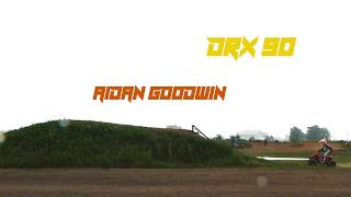 Aidan Goodwin Sick Freestyle Jump on his DRR DRX 90cc ATV