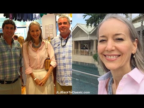 Classic Fashion/Style Over 40-50: Vlog--Vineyard Vines Opening Party Naples, FL, 2016; My OOTD