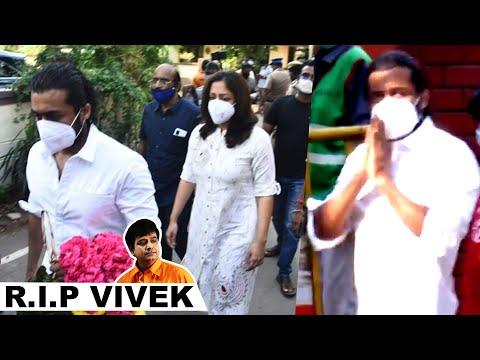 மறைந்த நடிகர் விவேக்கிற்கு அஞ்சலி செலுத்திய சூர்யா மற்றும் குடும்பத்தினர்..! | RIP Vivek | Suriya |