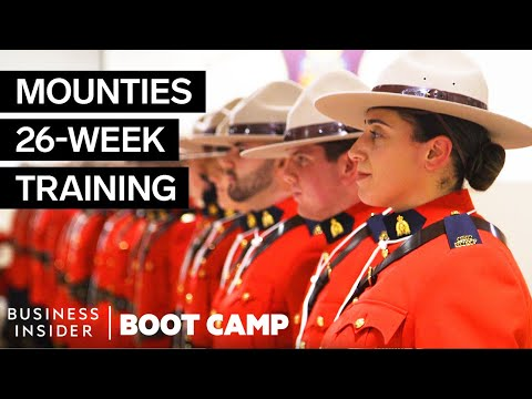 What Canadian Mounties Go Through At Boot Camp