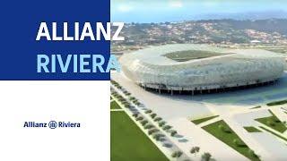 Le futur stade de Nice : l'Allianz Riviera