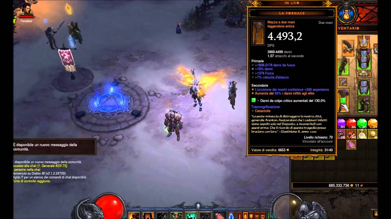 Diablo 3 Best Ancient Furnace Damage In The World Youtube