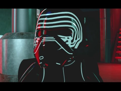 LEGO Star Wars: The Force Awakens Walkthrough Part 10 - Destroy Starkiller Base