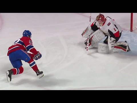 Canadiens' Drouin ties the game on penalty shot