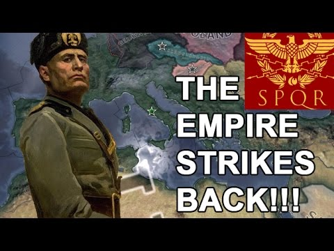 Mussolini RESTORES The Roman Empire in 1941?!? (HOI4 ITALY SPEEDRUN)
