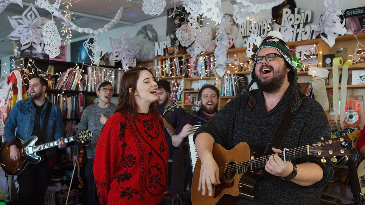 The Oh Hellos: NPR Music Holiday Tiny Desk Concert - YouTube