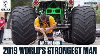 Martins Licis Captures World's STRONGEST Man Title