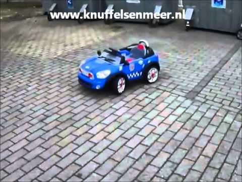 knuffels meer kinder accu auto mini cooper look youtube. Black Bedroom Furniture Sets. Home Design Ideas