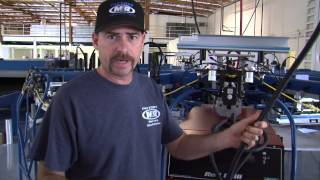 M&R Screen Printing Equipment Setup—Electrical Placement