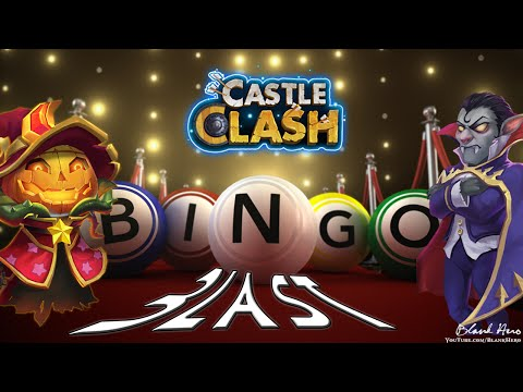 Castle Clash: Bingo Blast for Revitalize 3!   Pumkin Duke or Vlad Dracula