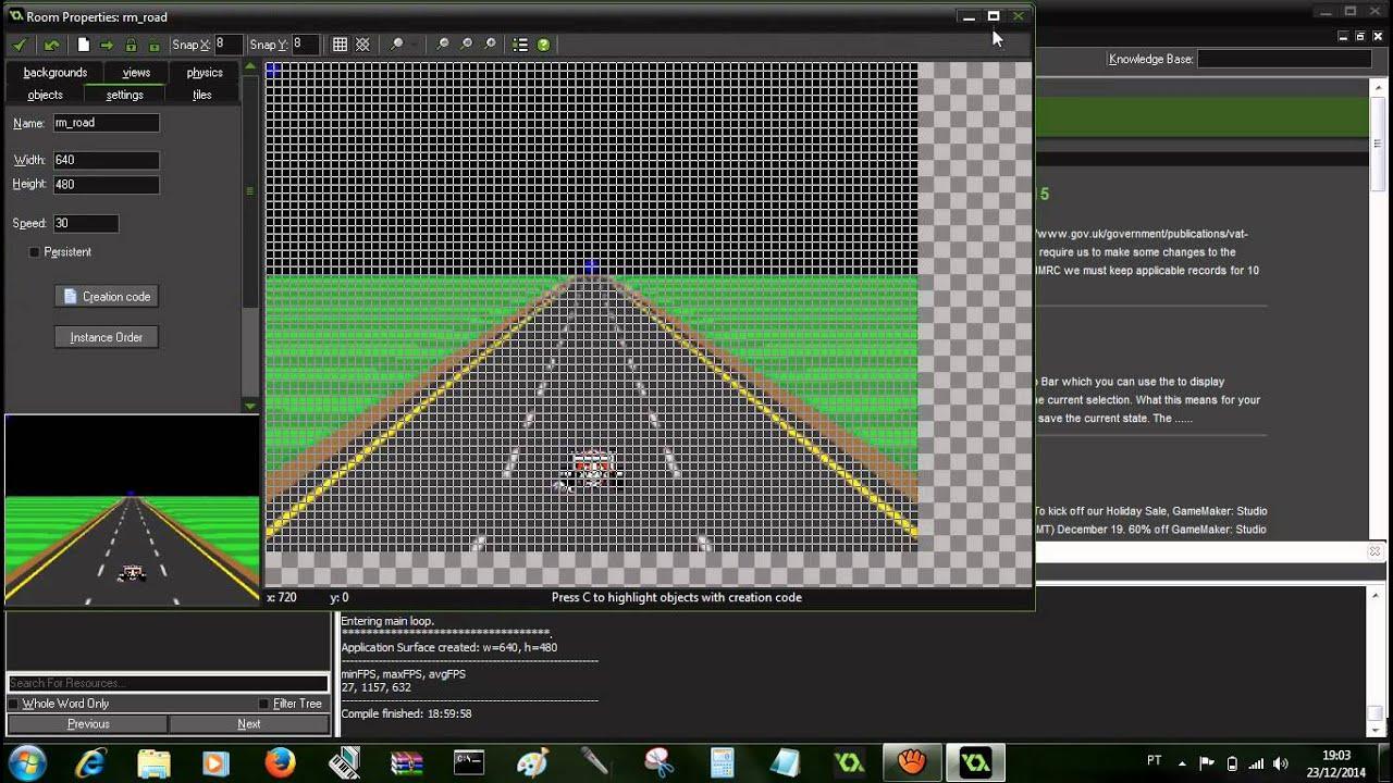 Game Maker Studio F1 Race Tutorial Youtube