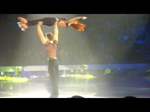 HD Fred Palascak & Melanie Lambert Dancing On Ice Tour 14.04.10 Newcastle