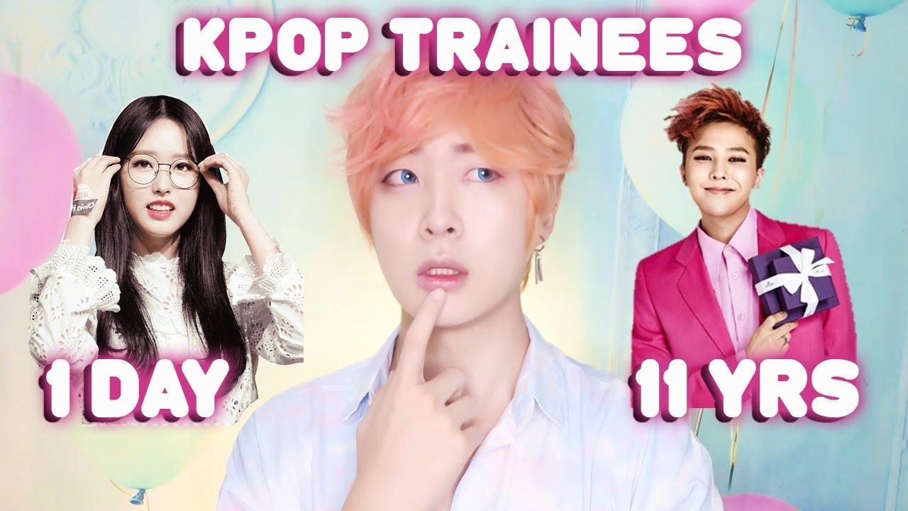 1 Day Vs 11 Years Kpop Trainee How Long Do Kpop Idols Take To Debut Youtube