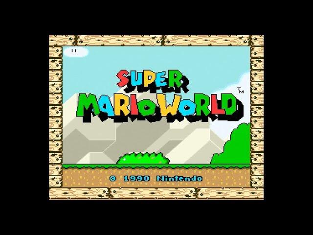 【ニンテンドークラシックミニ スーパーファミコン】スーパーマリオワールド