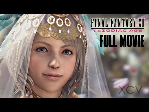 Final tasy XII: The Zodiac Age · FULL MOVIE  All   Ending  Gameplay PS4 Pro