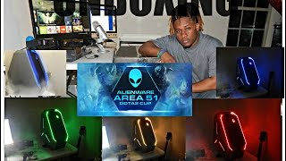 my new gaming pc unboxing alienware area 51