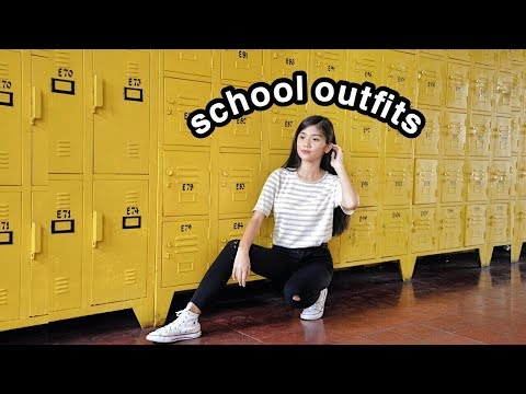 BACK TO SCHOOL OUTFIT IDEAS 2018
