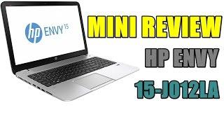 review notebook hp envy 15 j012la en espaol