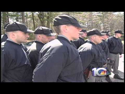 INSIDE THE RHODE ISLAND STATE POLICE TRAINING ACADEMY