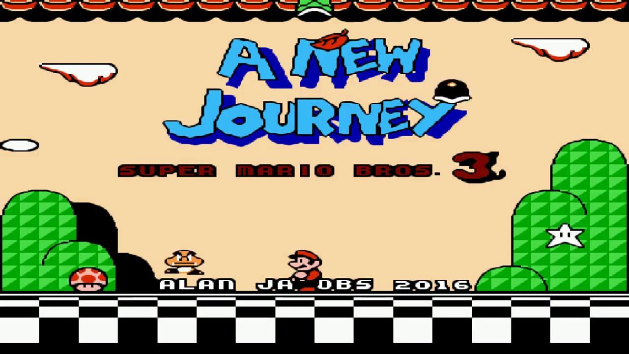 Super Mario Bros 3 A New Journey Nes Hack Download