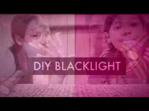 DIY Blacklight