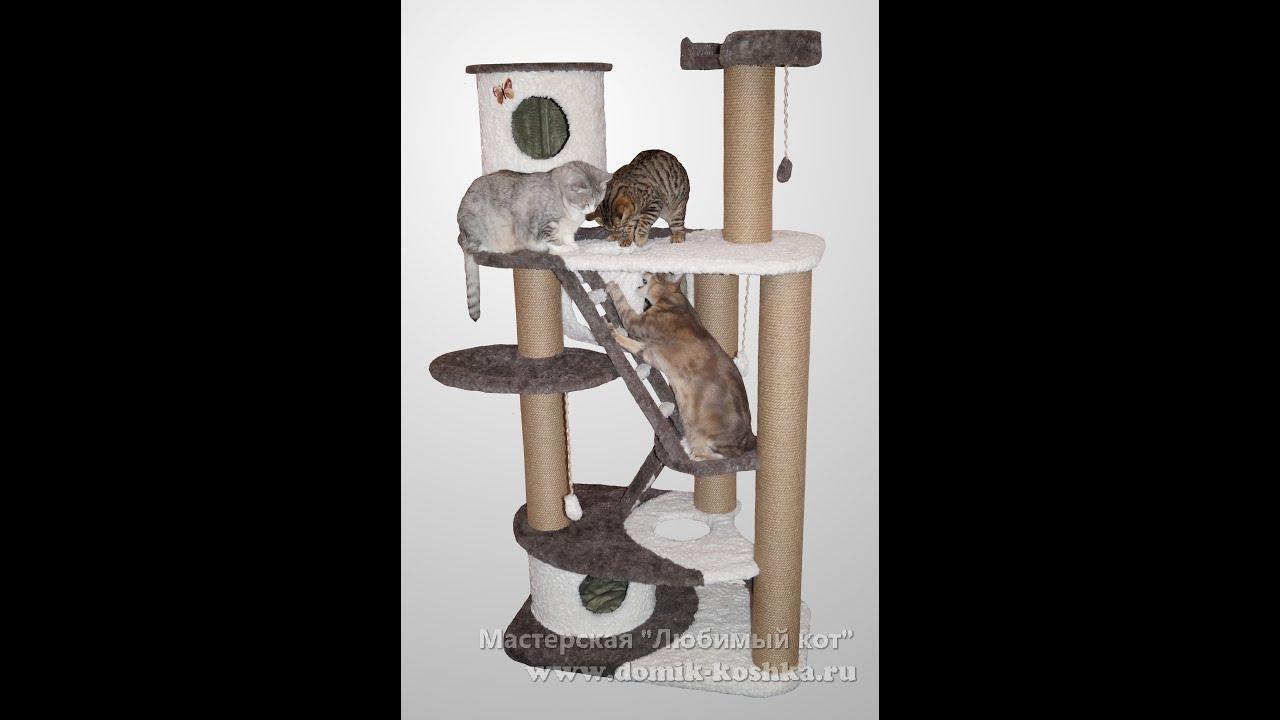 Как сделать домик для кошки своими руками - пошаговое